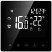 Slimme thermostaat Digitale wifi-kamerthermostaat Programmeerbaar LCD-scherm Touchscreen APP-bediening Elektrische wandthermostaat met interne sensor / vloersensor, kinderslot, geheugenfunctie, 16A