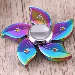 Fidget Spinner Colorful Bauhinia Flower Shape
