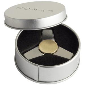 Fidget Spinner Metaal Zilver NOMAD Pro Q1