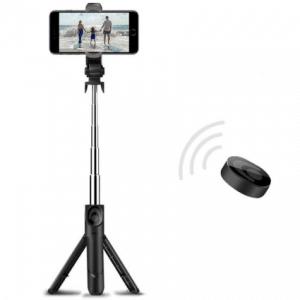 StarBuy 3 in 1 Selfie Stick met Afstandsbediening en Foldable Tripod Stand