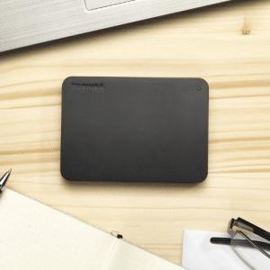 Toshiba Canvio Basics 1TB - Externe harde schijf Zwart