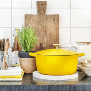 BK Bourgogne Stoofpan - Ø24 cm - Sunny Yellow