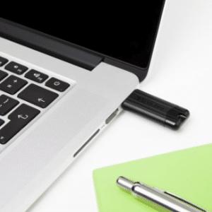 Verbatim PinStripe 128GB USB 3.0 (3.1 Gen 1) USB-Type-A-aansluiting Zwart USB flash drive