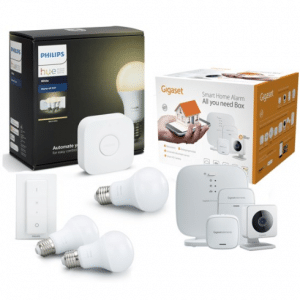 Gigaset Smart Home Alarmsysteem Special Edition - All You Need Box en Philips Hue