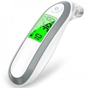 Medische voorhoofds- en oor thermometer - digitale infrarood thermometer voor koorts (Merkloos)