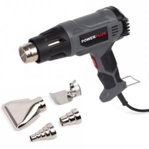 Powerplus POWE80040 Heteluchtpistool – 1600 W – Incl. 4 mondstukken