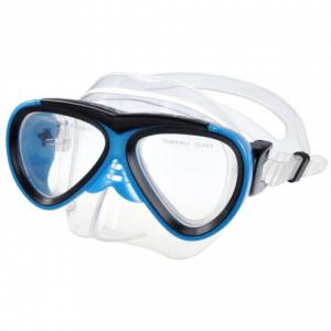 Waimea Duikmasker PVC - Junior - Blauw Zwart