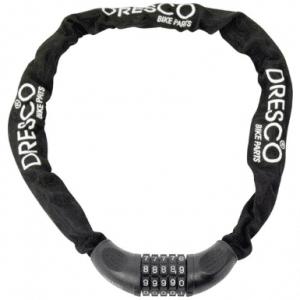 Dresco - Kettingcijferslot - 90cm - Rond 6mm