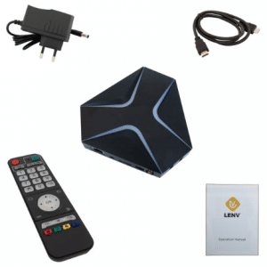 Lenv Android TV Box UHD MXQ PRO