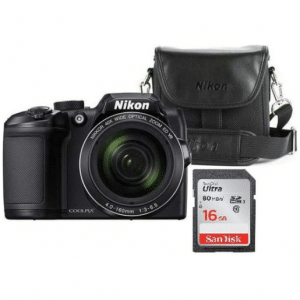 Nikon Coolpix B500 - Inclusief cameratas + 16GB SD-kaart