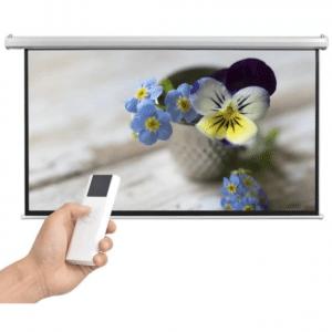 VidaXL Projectiescherm met afstandsbediening elektrisch 200x113 cm 16 9
