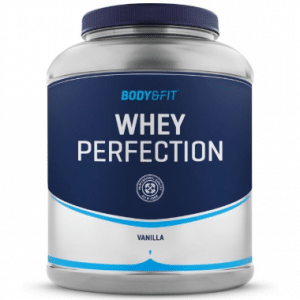 Body & Fit Whey Perfection - Eiwitpoeder Eiwitshake - 2270 gram - Vanille milkshake