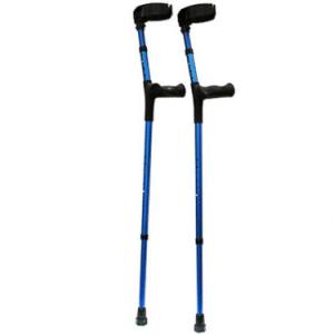 EZ - Crutch Ergonomische Elleboogkrukken Loopkrukken Ziekenhuiskrukken met Anatomische handgrepen
