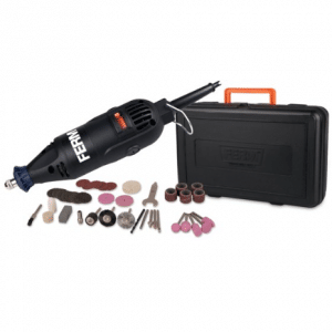 FERM CTM1012 Multitool - Roterend - 160W - Incl. koffer en 40 accessoires