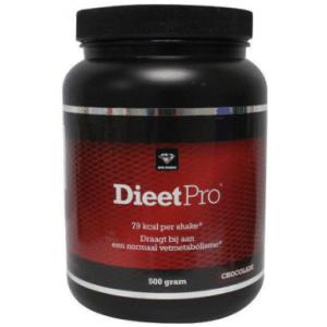 Nutri Dynamics Dieet Pro Eiwitshake Chocolade - 500 gram