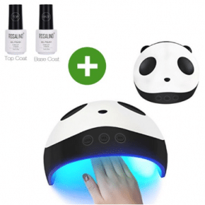 Panda Nails - Nagel droger - 2 gratis gel nagellak - 36 watt UV LED Lamp
