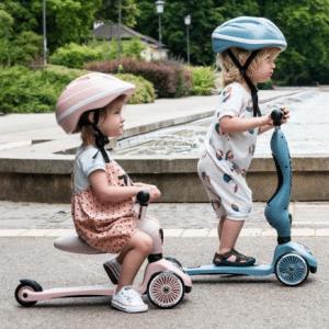 Scoot & Ride Loopfiets en Scooter stepje in één - Highway Kick