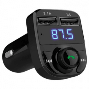 Yono Draadloze Auto FM Transmitter Bluetooth USB Oplader
